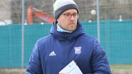 Shaun Whiter has been working with Ipswich Town since last August. Picture: SUFFOLK FA
