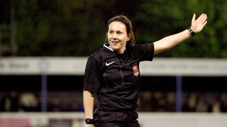Emily Heaslip, who has been appointed as fourth official for the Women's International Friendly betw
