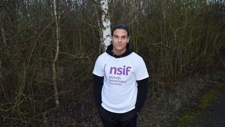 The Only Way is Essex star aims to complete the London Marathon in four and a half hours. Picture: L