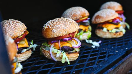 Burgers and other barbecue food will be offered by the new restaurant Picture: DAVID LOFTUS