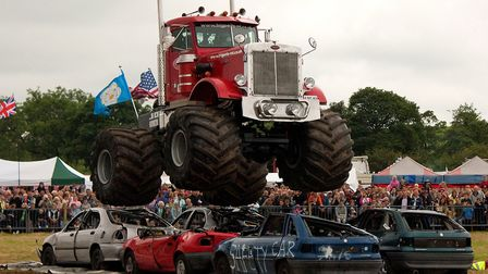 Big Pete the monster truck will star at Hadleigh Show 2019 Picture: Submitted