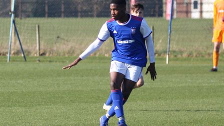 Ola Bello in action Picture: ROSS HALLS
