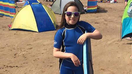 With weather like this in Devon, who needs a beach in Spain? Picture: NATALIE SADLER