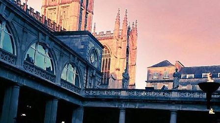 The Roman Baths in Bath are an attraction everyone must visit once in their lifetime Picture: NATALI