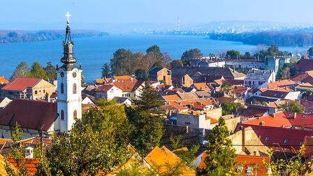 A panoramic view of Zemun PICTURE: Getty Images/iStockphoto