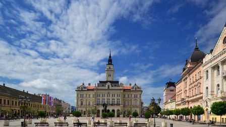 City hall in the center of Novi Sad PICTURE: Getty Images/iStockphoto