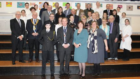 A thank you event to salute George Vestey's one year as High Sheriff of Suffolk has been held in Hav