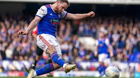 Alan Judge has produced a string of all-action displays since joining Ipswich Town. Photo: Steve Wal