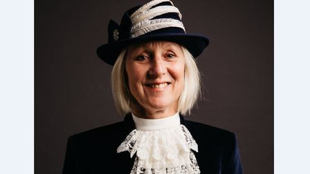 Roz Eminson is the new High Sheriff of Suffolk. Picture: NICK ILOTT