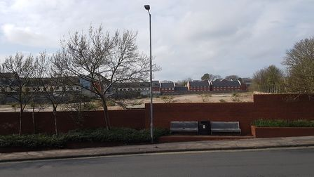 Land off Woodbridge Road to be used for new special school. Picture: RACHEL EDGE