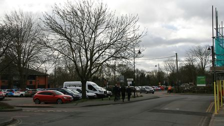 Great Eastern Road serves the car parks for Roys, Waitrose and the Kingfisher leisure centre Picture