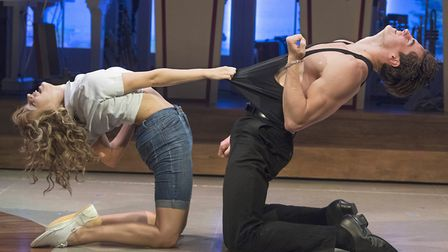 Kira Malou (Baby) Michael O'Reilly (Johnny) in Dirty Dancing - The Classic Story on Stage; Photo:Ala