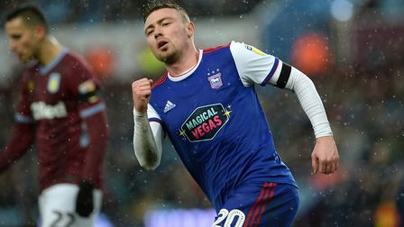 Freddie Sears is Ipswich Town's top scorer with six goals. Picture Pagepix