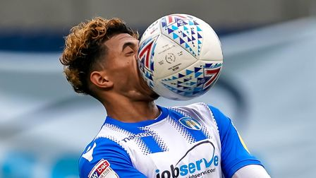 Ouch, that hurts! As did the U's home defeat to Oldham. Courtney Senior gets the ball in his face as