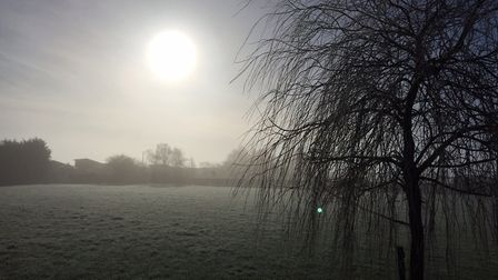 Suffolk is set for patches of sunshine after a frosty start to the morning. Pictures: BARRY PULLEN/C