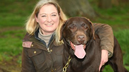 Branston enjoying the outdoor life with Jenny from Bury St Edmunds Picture: FutureYou