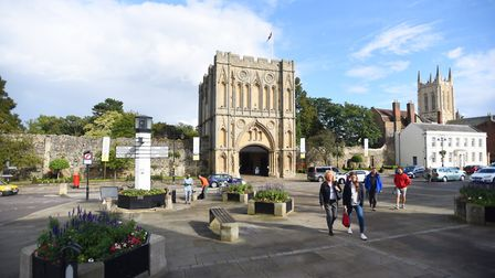 Bury St Edmunds took the top spot, and has been named the best place to live in the east in 2019 Pic