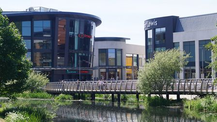 Shopping facilities in Chelmsford were praised by The Sunday Times judges in 2018 Picture: CHELMSFOR
