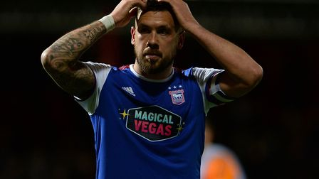 Ipswich Town's relegation from the Championship could be confirmed on Saturday. Picture: Pagepix