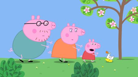 A horror film trailer was shown at the start of a Peppa Pig film at Empire Cinema in the Ipswich But