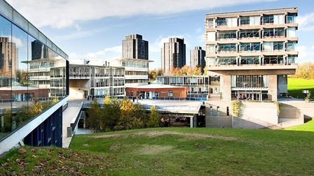The University of Essex in Colchester Picture: UNIVERSITY OF ESSEX