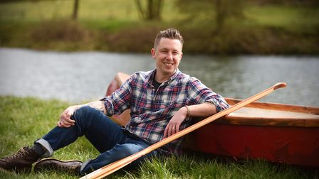 Matt Gaw, who will talk about his book The Pull of the River Picture: GREGG BROWN