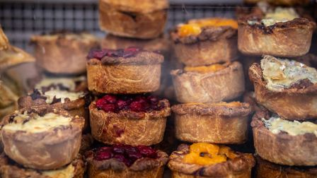 Cheese and pies at The Taste of Sudbury 2018 Picture: Emma Cabielles Photography