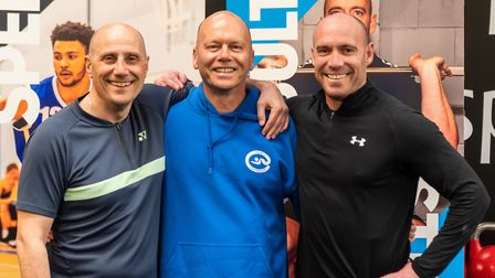 (L-R) Nino Severino, Dave Champion and Wes Pooley. Picture: PAVEL KRICKA