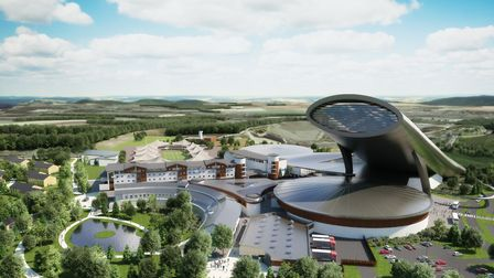 New-look artist impression of SnOasis. Picture: ONSLOW SUFFOLK/SNOASIS