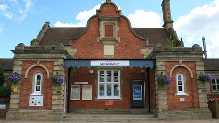 Stowmarket railway station will received �3m for improvements. Picture: MARK LANGFORD