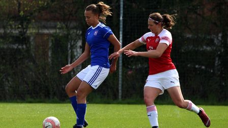 Paige Peake has been called up for England Picture: ROSS HALLS