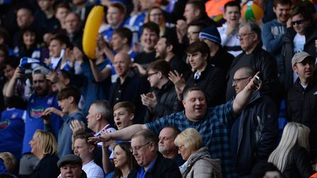 Town fans enjoyed their day out at Bolton. Picture: PAGEPIX LTD