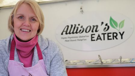 Allison Knight, owner of Allisons Eatery, will soon be opening a vegan cafe and shop in Bury St Edm
