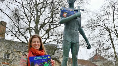 Hatty Ashton will read her children's books at Bury St Edmunds Guildhall Picture: GUILDHALL