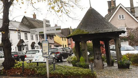 The roadworks will take place in Woolpit. Picture: LIBRARY