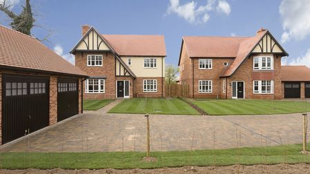 Bennett Homes' development Chancellor's Wood at Cringleford, Norfolk was mentioned by the judges whe