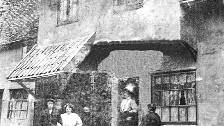 An old photograph of Codling's Forge in Long Melford Picture: JOHN NUNN