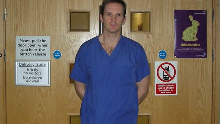 Dr Dan Poulter continues to work as a hospital doctor. Picture: Office of Dr DAN POULTER