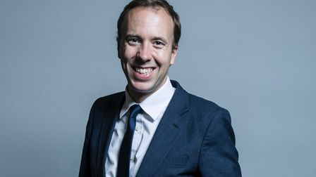 Matt Hancock received support from the racing industry. Picture: House of Commons