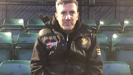 Bury St Edmunds Rugby Club's head coach, Nick Wakley, looking forward to the final home game of the