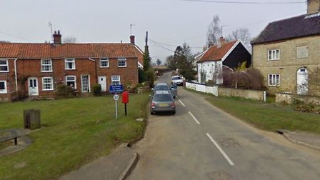 Police are investigating a burglary in Gromford Lane, Snape Picture: GOOGLEMAPS