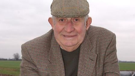 Clem Tomsett in 2004 - 'the greatest carrot grower the UK has ever known' Picture: ARCHANT ARCHIVE