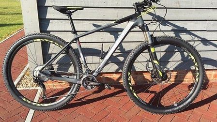 A photo of the mountain bike stolen from Creeting St Mary Picture: SUPPLIED BY SUFFOLK CONSTABULARY