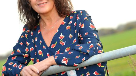 Gee Wizz charity founder Gina Long MBE, who founded the auction Picture: LUCY TAYLOR