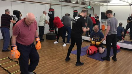 The classes are held at Gainsborough Sports Centre
