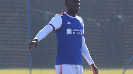 Toto Nsiala pictured playing for the Under-23s in February. Photo: Ross Halls