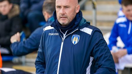 U's boss John McGreal, hoping for another good away result at Bury this weekend. Picture: STEVE WALL