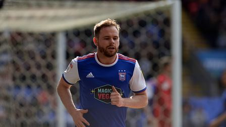 Alan Judge spent five years at Brentford before moving to Ipswich Town for a nominal fee in January.