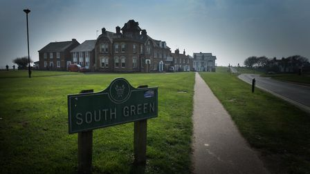 A phantom hedge was seen on South Green, Southwold. Picture: SARAH LUCY BROWN