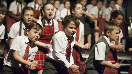 Pupils from all years performed in the show. Pictures: FINBOROUGH SCHOOL